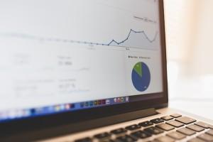 online marketing screen z google analitics