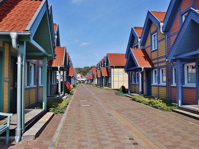 domy kanadyjskie małopolska szereg domów drewnianych