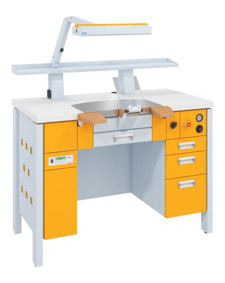 biurka protetyczne - wyposażenie laboratorium