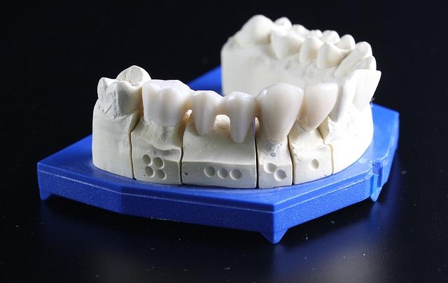 odlew zębowy wykonany w piecu protetycznym