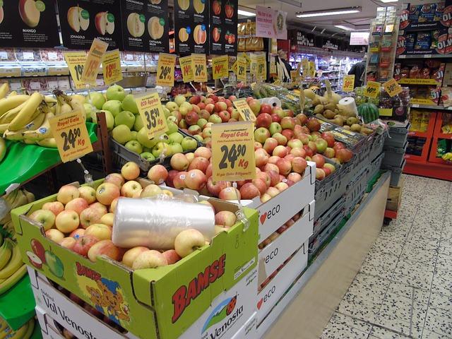 Przewóz artykułów spożywczych - owoce