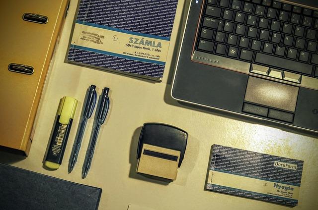 Pieczątki Andrychów - wyposażenie biura