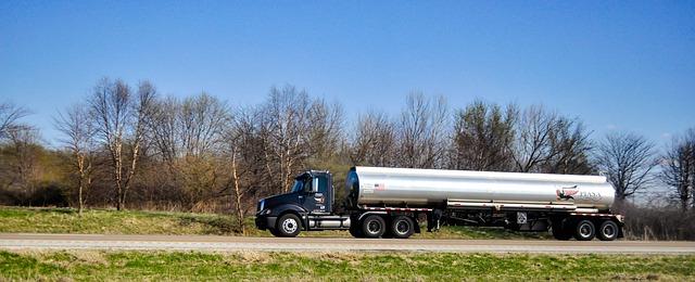 Przewóz oleju transportem samochodowym