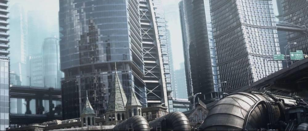Final Fantasy VII Remake - miasto Gaia