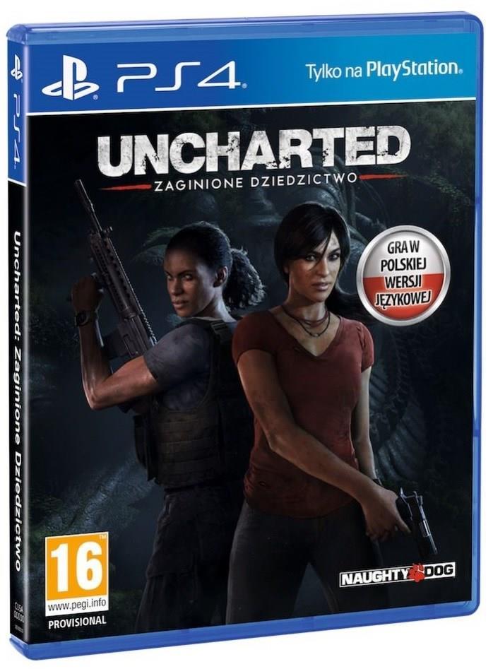 Uncharted Zaginione Dziedzictwo na PS4