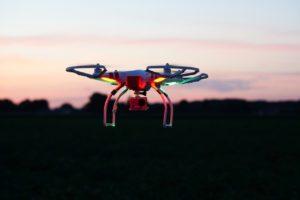 zachód słonka oglądany z drona z TOP10 najlepsze drony zestawienia Ceneo!