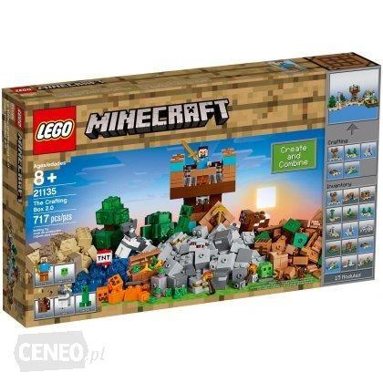 promocje lego minecraft warsztat kreatywny