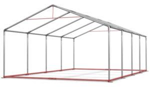 namioty wystawowe powinny być wyposażone w odpowiednie wzmocnienia