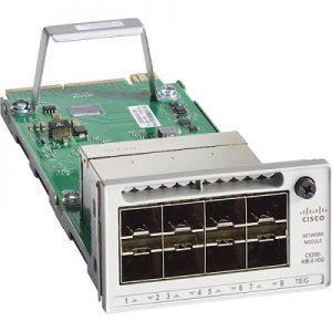 cisco c9300-nm-8x - wygląd modułu