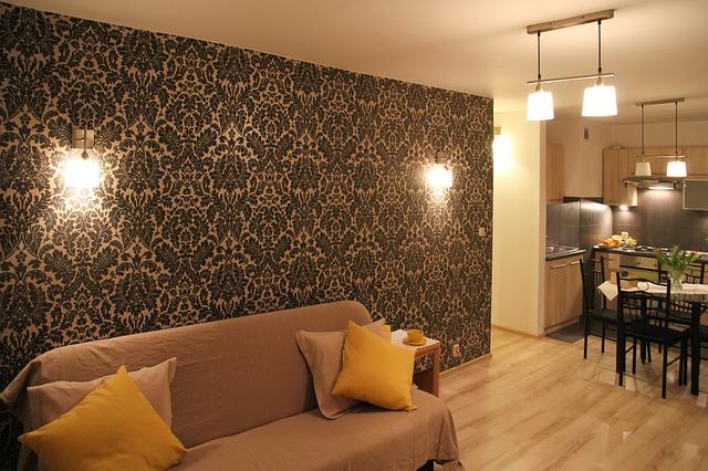 Żarówka ściemnialna 7W osram gu10 sprawdzi się w salonie.