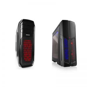Komputer 1800x XFX RX580 - dwie wersje podświetlenia obudowy.