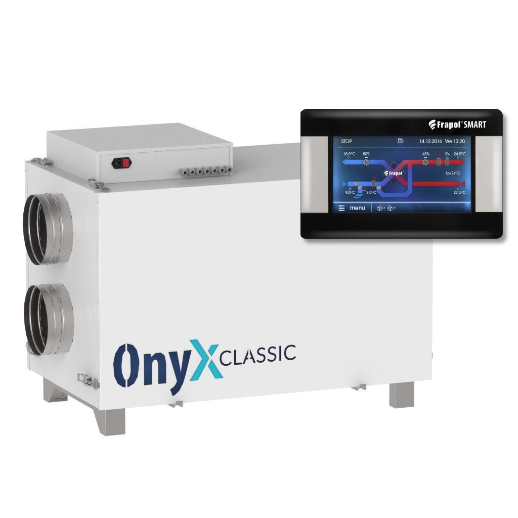 Wygląd centrali Onyx Classic 550, wraz z kontrolerem.