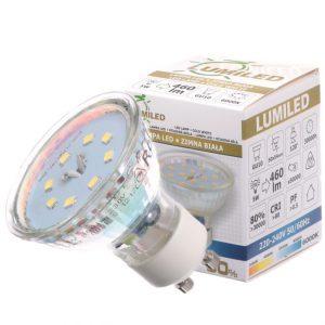 Halogen LED 5W - zamiennik dla tradycyjnej żarówki 50W
