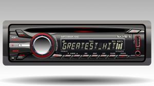 Ramki do radia samochodowego w ciemnej kolorystyce