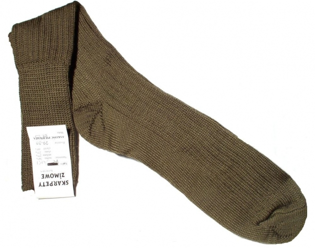 Skarpety wojskowe zimowe to solidny produkt