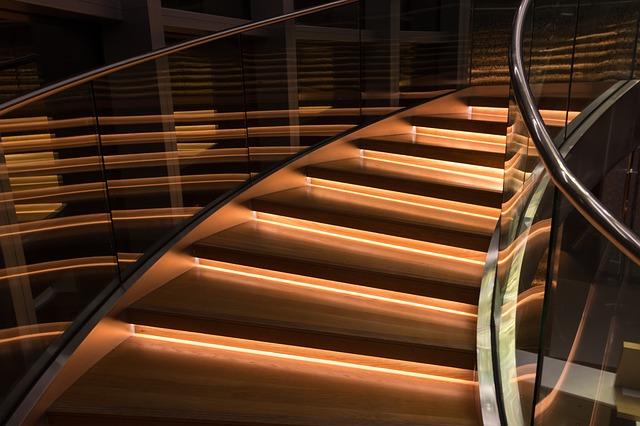 zestaw oświetlenia schodowego LED do domu, mieszkania