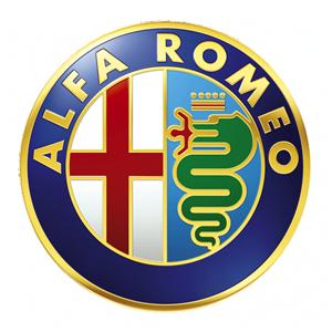 osłona lewa przednia Giulia - alfa romeo - logo