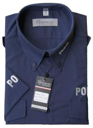 Koszula policyjna stanowi podstawową odzież policjanta na służbie.