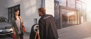 Serwis Mercedesa obejmuje także badanie przeglądu technicznego