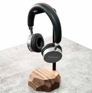 Drewniany stojak na słuchawki kupisz w sklepie internetowym Oakywood