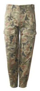 Spodnie polowe noszone są przez żołnierzy podczas służby garnizonowej