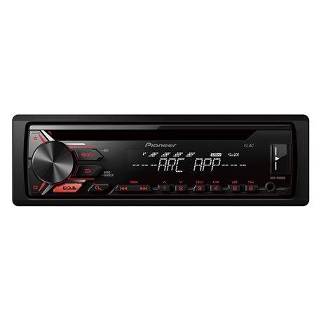 radio samochodowe koloru czarnego