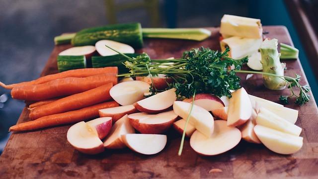 Noże elektryczne warzywa