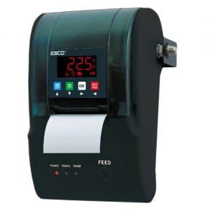 rejestratory temperatury z drukarką