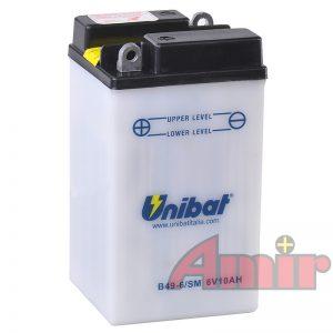 Akumulatory Unibat - wąski do motocykla