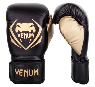 Zapinane na rzep rękawice bokserskie venum contender