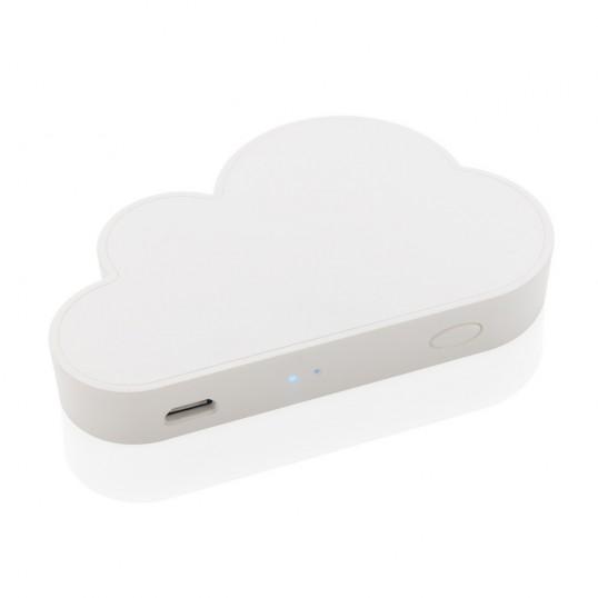 kieszonkowy dysk bezprzewodowy w kształcie chmury jest świetnym gadżetem
